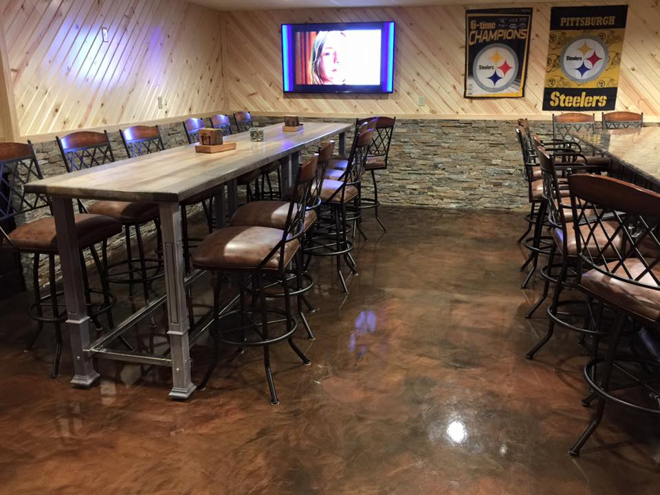 Metallic Marble Epoxy Flooring | Butte, Montana