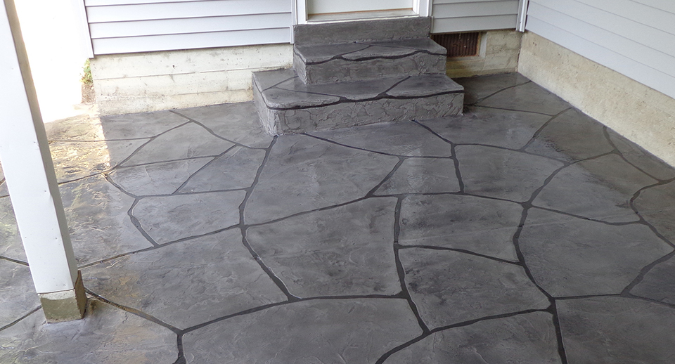 Grand Flagstone Concrete |  Melville, Montana
